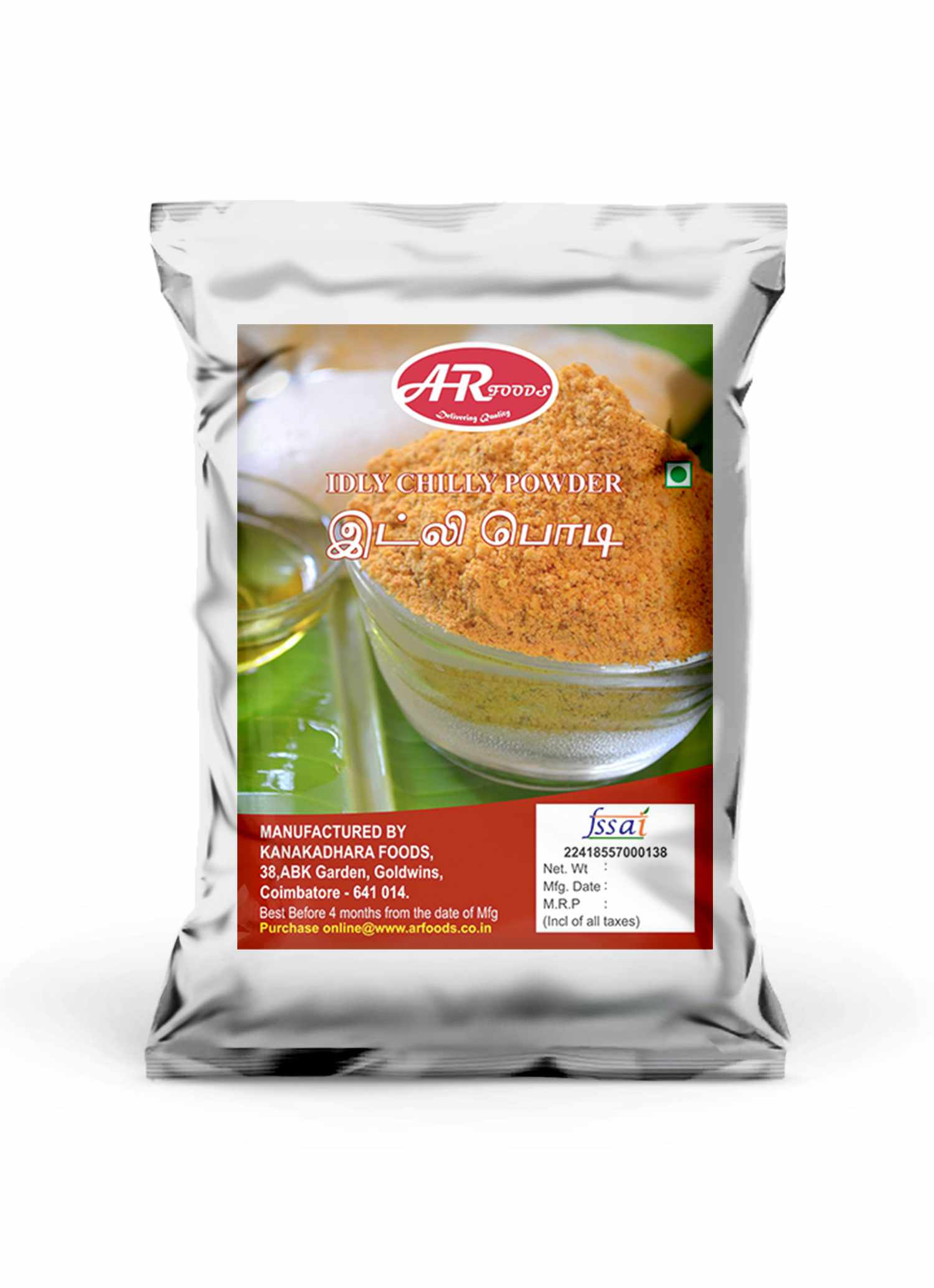 Idly powder_ar_foods_coimbatore
